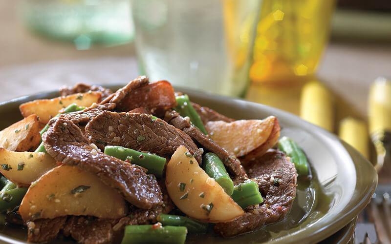 Beef and Potato Salad