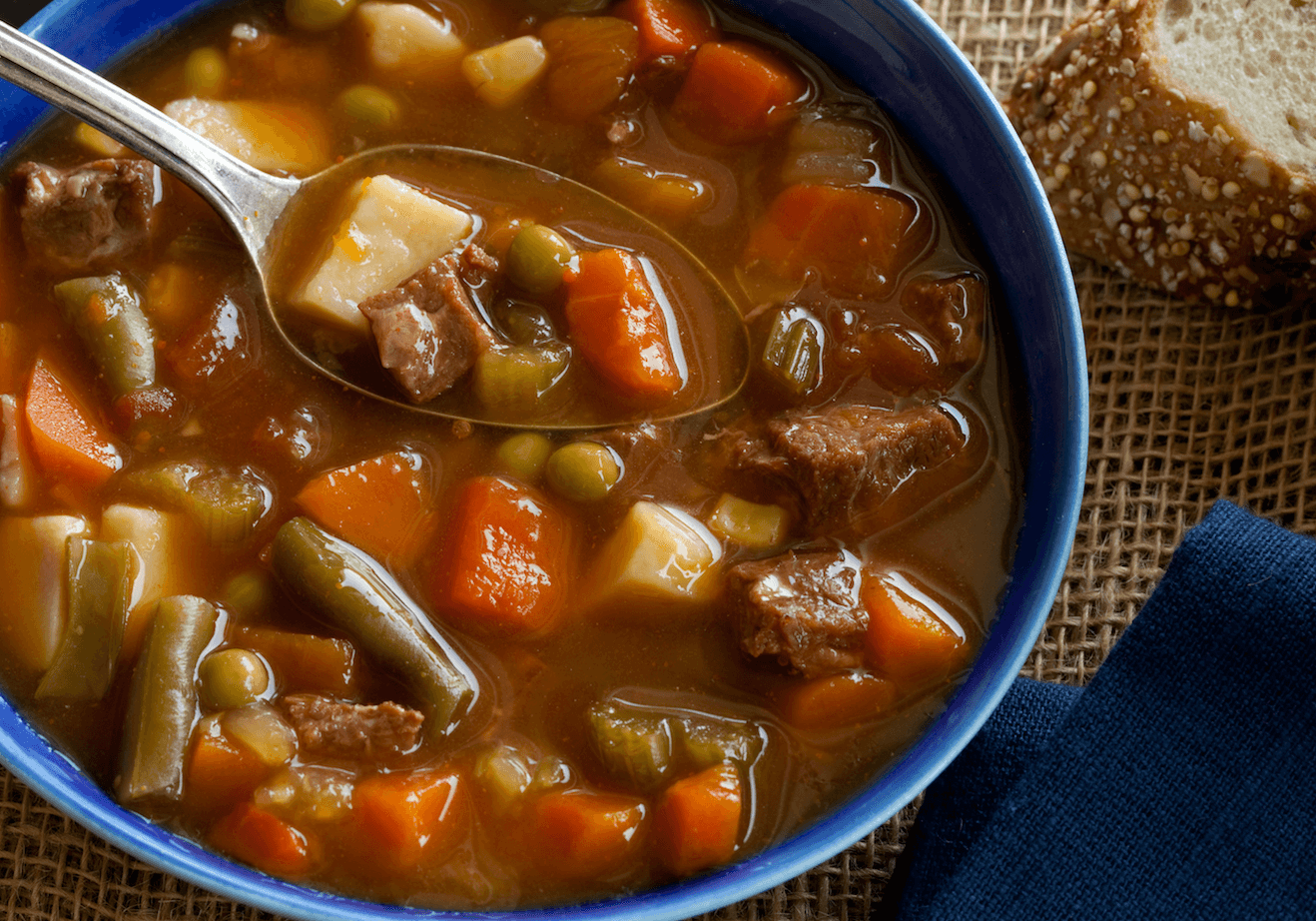 Lazy Beef Soup