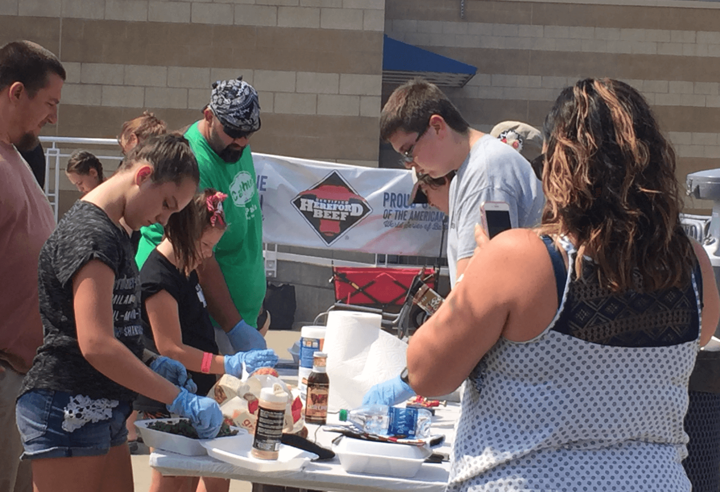 Certified Hereford Beef Sponsors the American Royal World Series of BBQ Kids-Que Contest