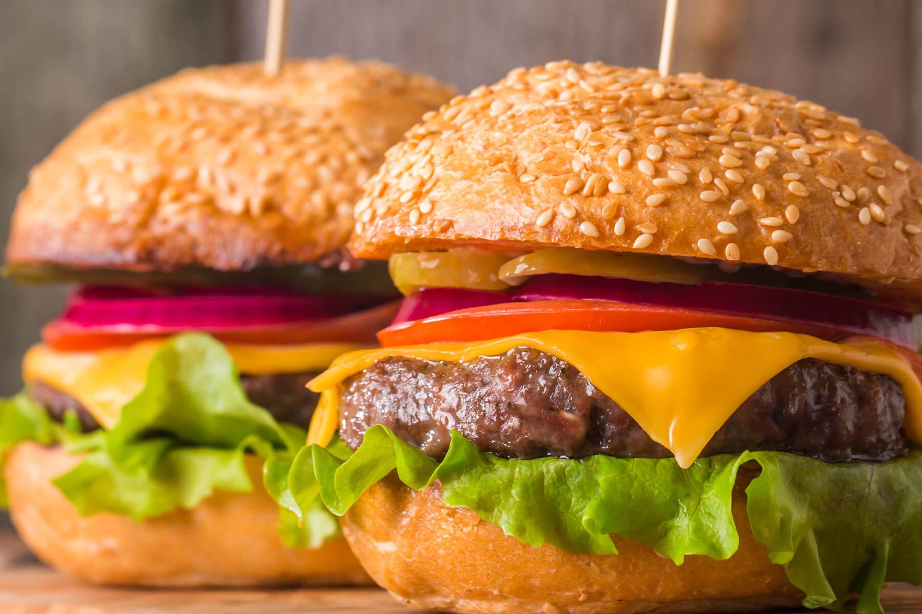 Zesty BBQ Cheeseburgers