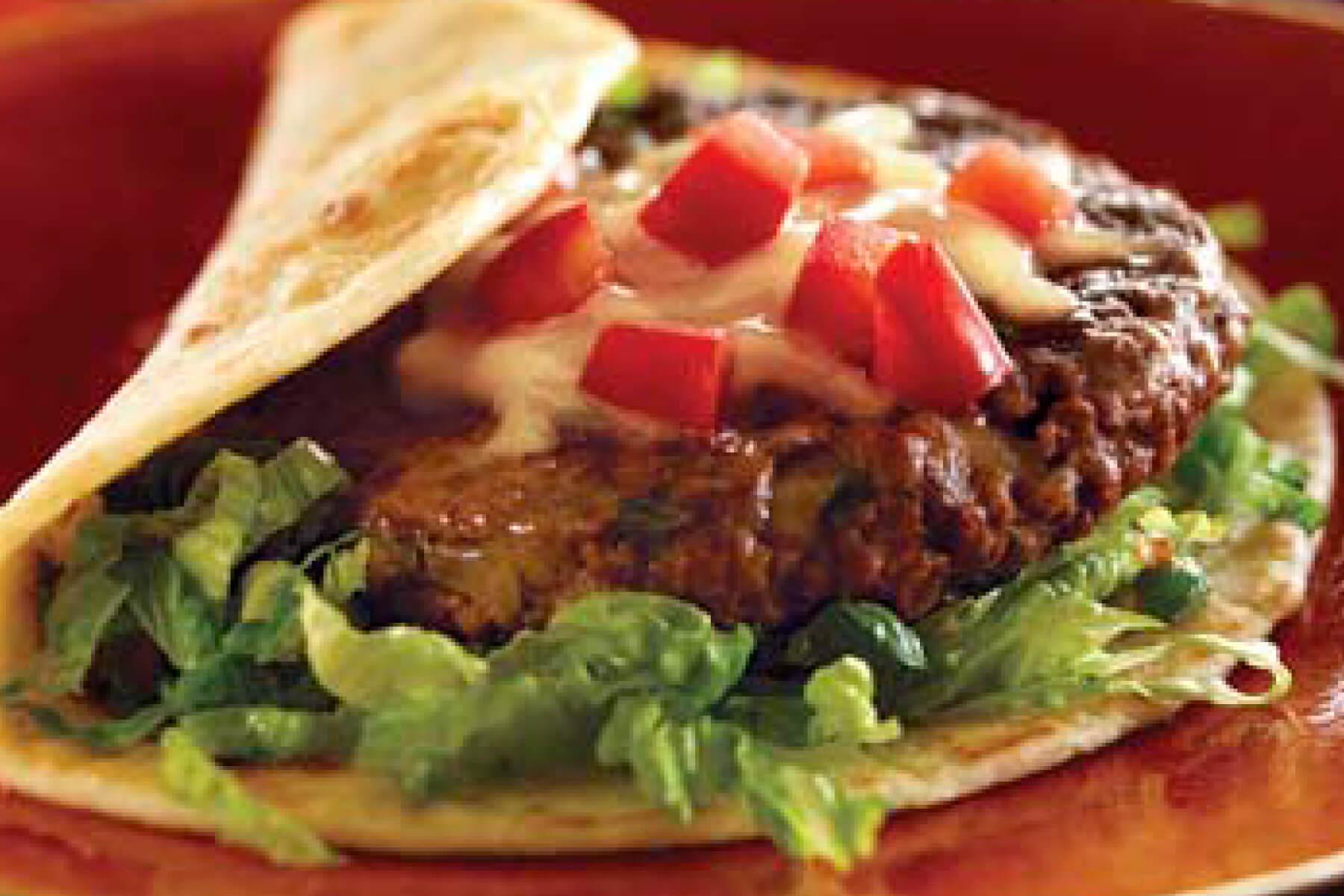 Fiesta Burger Con Queso