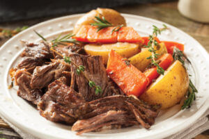 Certified Hereford Beef Mississippi pot roast