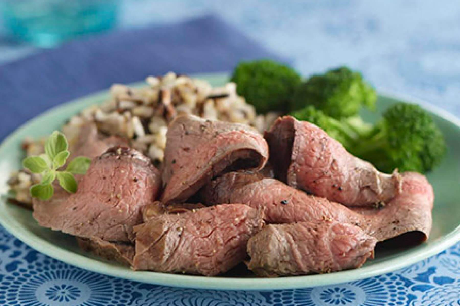 Wine Marinated Flank Steak