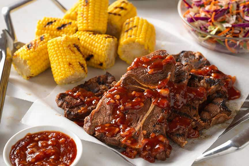 Barbecue Beef Chuck Steaks