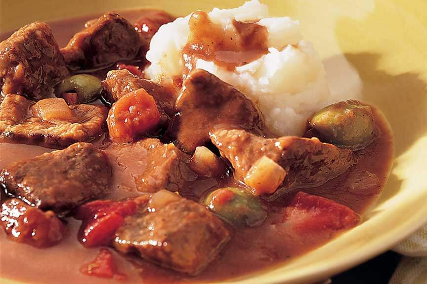 Beef and Green Olive Stew
