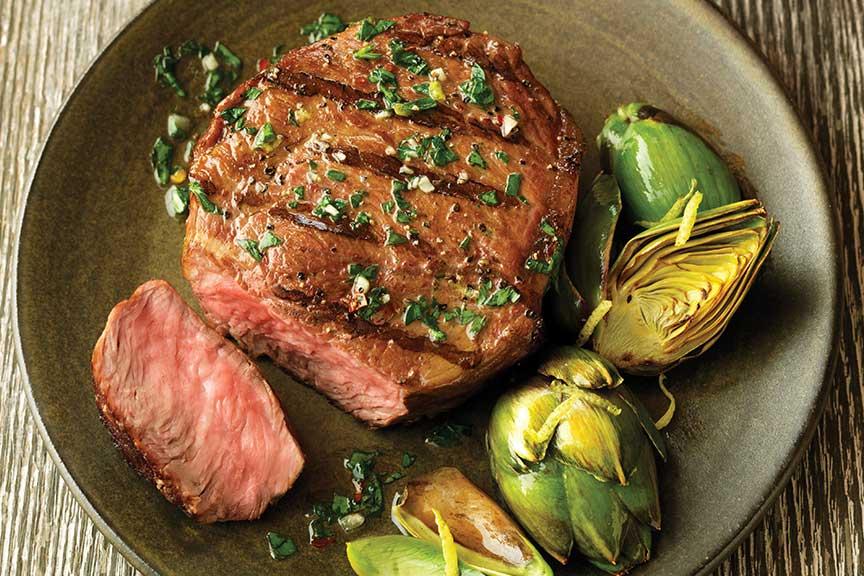 Chimichurri Steak Filets
