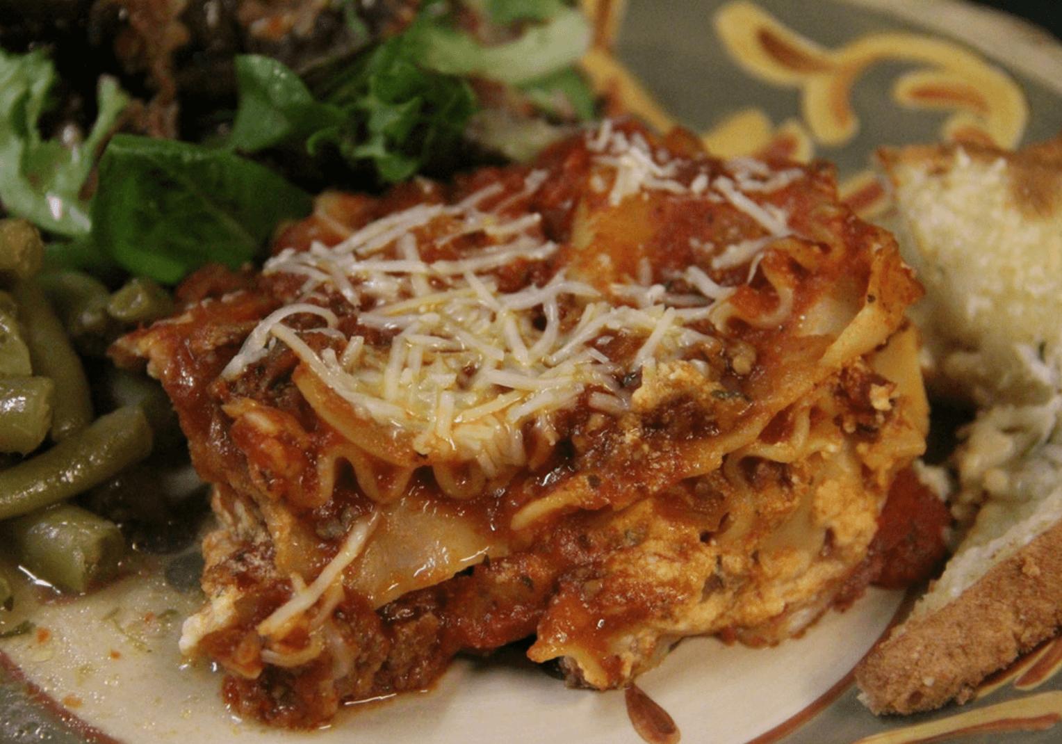 Pasta for dinner!