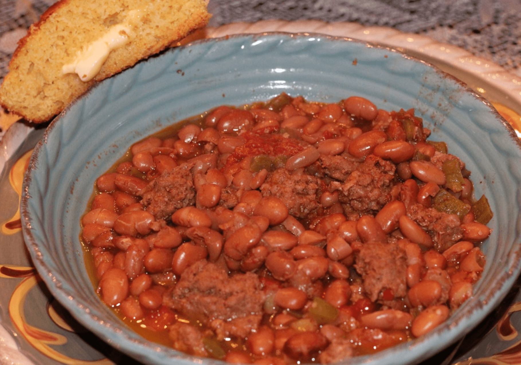 The Ranch Kitchen's Cowboy Beans