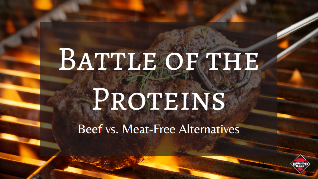 Battle of the Proteins: Beef vs. Meat-Free Substitutes